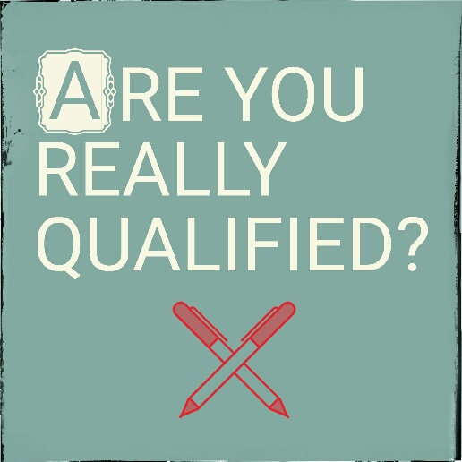 Are You Really Qualified? Red pens crossed