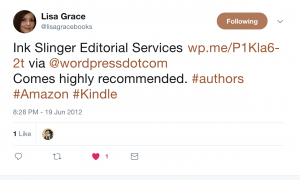 Lisa Grace Tweets Recommendation