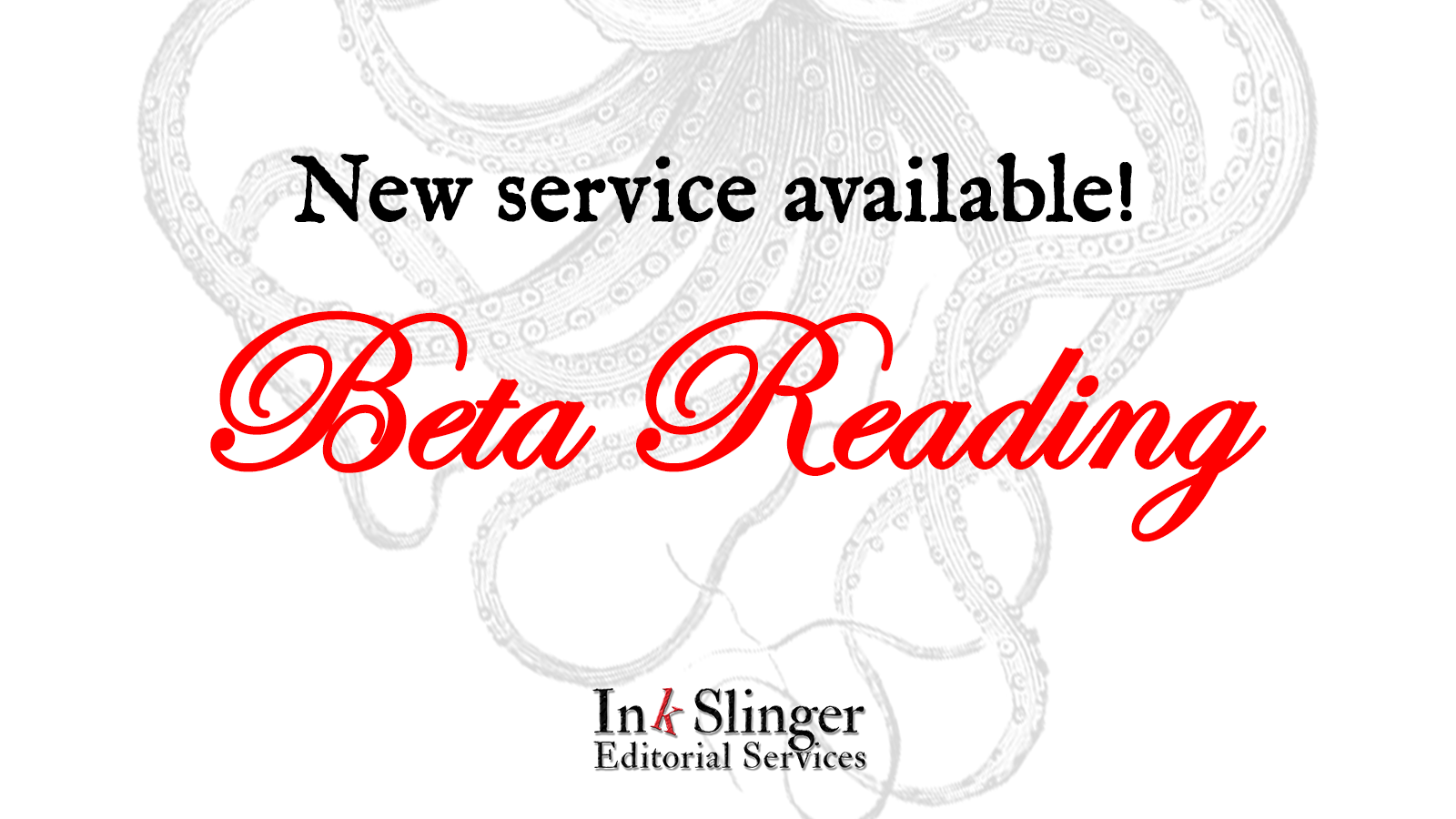 New Service: Beta Reading