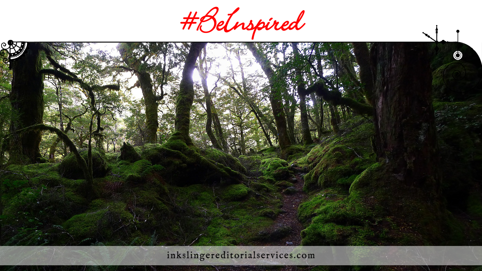 #BeInspired: An Abandoned Enchanted Forest