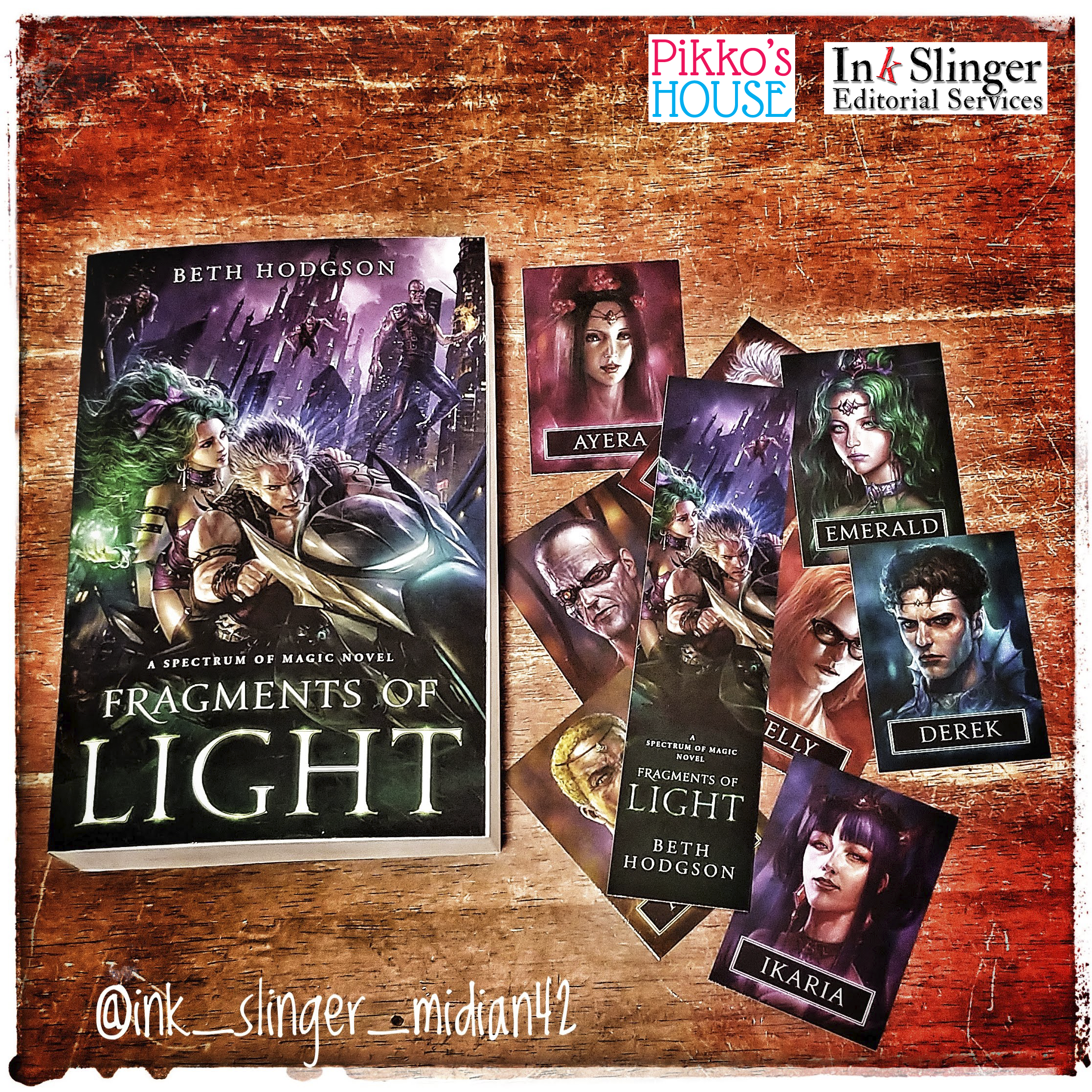 Book Birthday: Fragments of Light by Beth Hodgson
