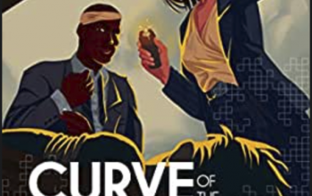 Curve of the Dragon, Episode 3: Losing Integrity An illustration of a view looking up from the trunk of a car where a shadowed body lies as a woman in a power suit holds the trunk open and a man in a suit with a bandage around his head looks on.